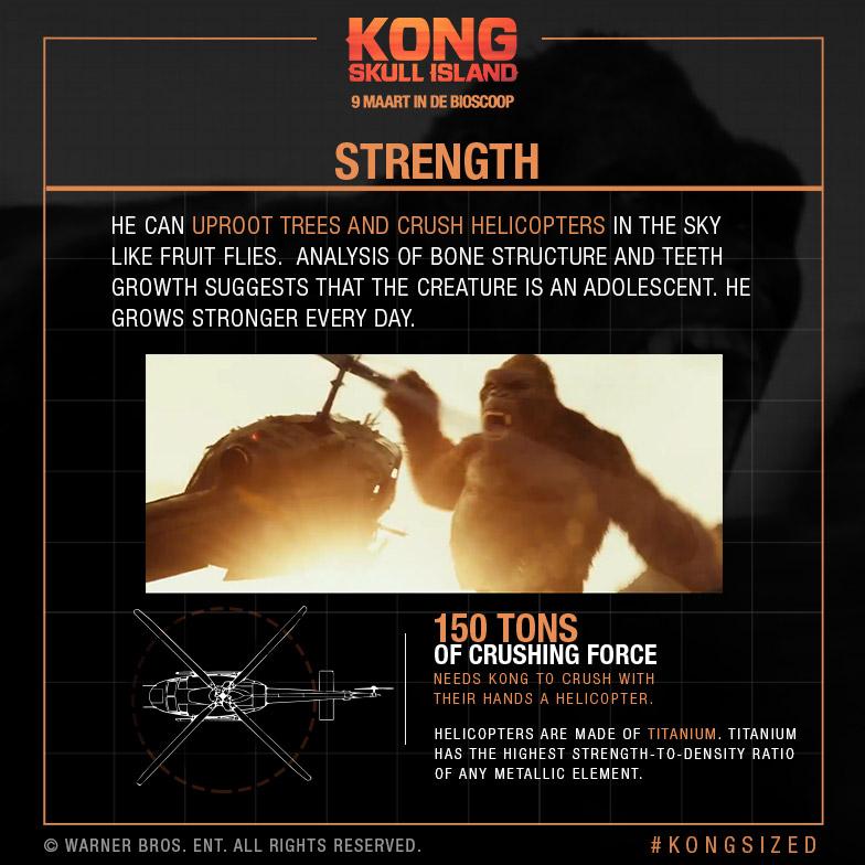 Kong: Skull Island – Kong-Sized | 9 maart in de bioscoop
